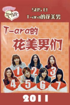 T-ara的花美男们2011